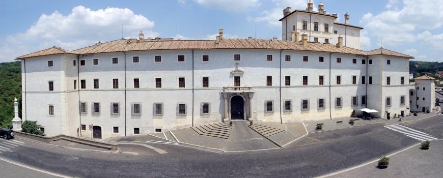 Facciata di Palazzo Chigi in Ariccia, foto di Archivio storico del palazzo